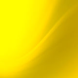Abstracte gele krommenachtergrond Stock Foto's