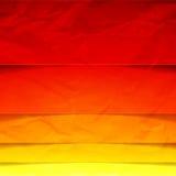Abstracte gele, oranje en rode rechthoekvormen Stock Afbeelding
