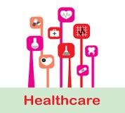 Abstracte geneeskundeachtergrond Royalty-vrije Stock Foto's