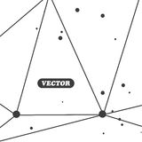 Abstracte geometrisch Royalty-vrije Stock Afbeelding