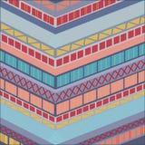 Abstracte Geometrisch als achtergrond royalty-vrije illustratie