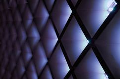 Abstracte geometrisch Architecturale binnenlandse details Royalty-vrije Stock Afbeelding