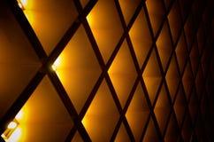 Abstracte geometrisch Architecturale binnenlandse details Royalty-vrije Stock Foto's