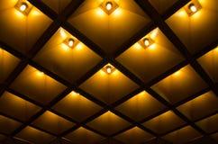Abstracte geometrisch Architecturale binnenlandse details Stock Afbeelding