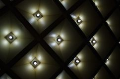 Abstracte geometrisch Architecturale binnenlandse details Royalty-vrije Stock Foto