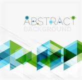 Abstracte geometrisch Het moderne overlappen Royalty-vrije Stock Afbeeldingen