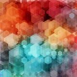 Abstracte geometrisch Vector illustratie royalty-vrije illustratie