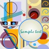 Abstracte geometrische achtergrond Royalty-vrije Stock Fotografie