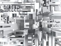 Abstracte geometrische achtergrond Stock Foto