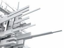 Abstracte geometrische achtergrond Stock Afbeelding