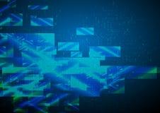 Abstracte Geometrische Achtergrond. Royalty-vrije Stock Fotografie