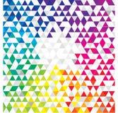 Abstracte geometrische achtergrond stock afbeeldingen