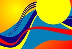 Abstracte geometrische achtergrond royalty-vrije illustratie