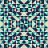 Abstracte geometrische achtergrond met driehoeken Stock Afbeelding