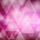Abstracte geometrische achtergrond met driehoeken Vector illustratie Vector Illustratie