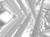 Abstracte geometrische concrete architectuurachtergrond Stock Foto's