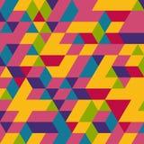 Abstracte geometrische 3d achtergrond Royalty-vrije Stock Foto's