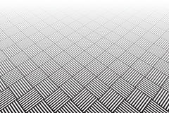 Abstracte geometrische gecontroleerde achtergrond Stock Afbeelding