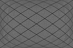 Abstracte geometrische geweven achtergrond Royalty-vrije Stock Afbeelding