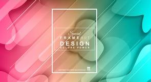 Abstracte Geometrische kleurrijke achtergrond met hoog verzadigde gradi Stock Foto's
