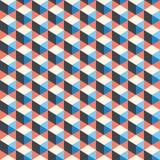 Abstracte, geometrische kleurrijke achtergrond, spectrum Stock Foto