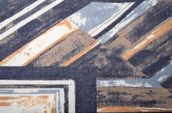 Abstracte geometrische kleurrijke druk royalty-vrije stock afbeelding