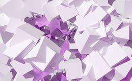 Abstracte geometrische kubussen vector illustratie