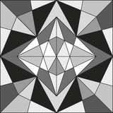 Abstracte geometrische lijnen royalty-vrije illustratie