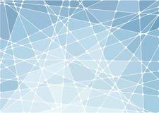 Abstracte geometrische mozaïekachtergrond Stock Afbeeldingen