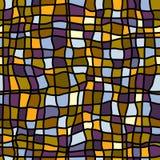 Abstracte geometrische mozaïekachtergrond royalty-vrije illustratie