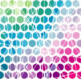 Abstracte geometrische mozaïekachtergrond. Vector Illus Royalty-vrije Stock Afbeeldingen