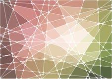 Abstracte geometrische mozaïekachtergrond Stock Afbeelding