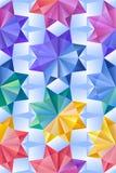 Abstracte geometrische naadloze achtergrond Royalty-vrije Stock Afbeelding