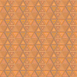 Abstracte geometrische naadloze achtergrond Royalty-vrije Stock Foto