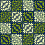 Abstracte geometrische naadloze achtergrond golvend vector illustratie