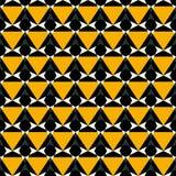 Abstracte geometrische naadloze patroon vectorillustratie Stock Fotografie