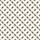 Abstracte geometrische naadloze textuur met gespannen vormen, diagonale lijnen Stock Foto's