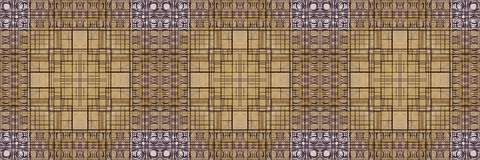 Abstracte geometrische naadloze textuur - perfectioneer naadloos patroon dat kan worden herhaald modulair om eenvormig te creëren stock foto's