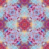Abstracte geometrische olieachtige textuur van verf, de lentevector van het vlekkenpatroon Stock Afbeelding
