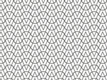 Abstracte geometrische patroon zwart-wit vector als achtergrond Stock Foto's
