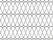 Abstracte geometrische patroon zwart-wit vector als achtergrond Stock Fotografie