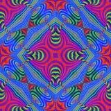 Abstracte geometrische patroonebru Royalty-vrije Stock Afbeeldingen
