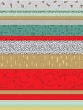 Abstracte geometrische sierachtergrond Royalty-vrije Stock Fotografie