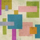 Abstracte geometrische sierachtergrond Royalty-vrije Stock Afbeeldingen
