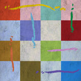 Abstracte geometrische sierachtergrond Stock Afbeelding