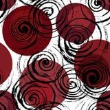 Abstracte geometrische spiraalvormige achtergrond vector illustratie