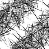 Abstracte geometrische textuur, patroon met dynamische willekeurige lijnen A stock illustratie