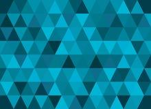 Abstracte geometrische vectorachtergrond, driehoekspatroon Stock Afbeelding