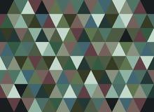 Abstracte geometrische vectorachtergrond, driehoekspatroon Royalty-vrije Stock Foto's