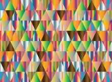 Abstracte geometrische vectorachtergrond, driehoekspatroon Stock Foto